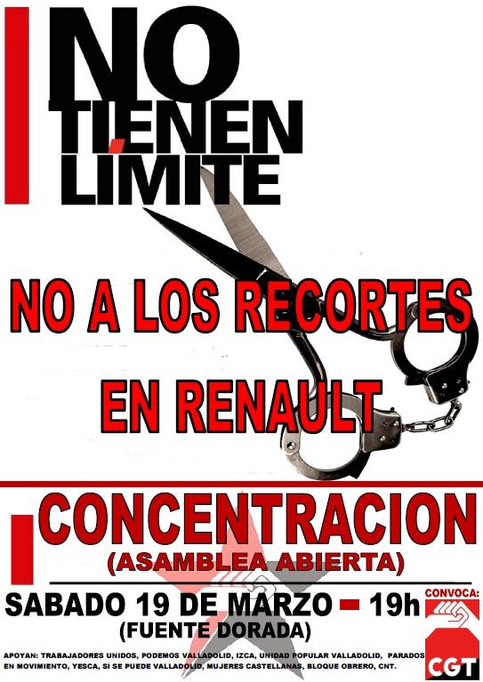 cartel concentracion Renault