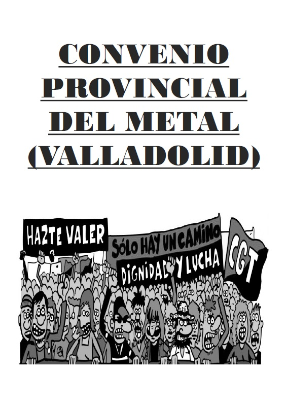 convenio metal (valladolid)